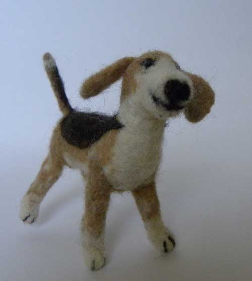 NEEDLE FELTED DO