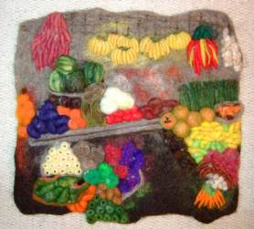 NEEDLE FELTED FRUITS & VEGGIES