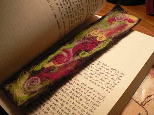Needle Felted Bookmarks