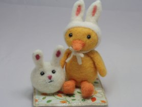 Needle Felting Chick Tutorial