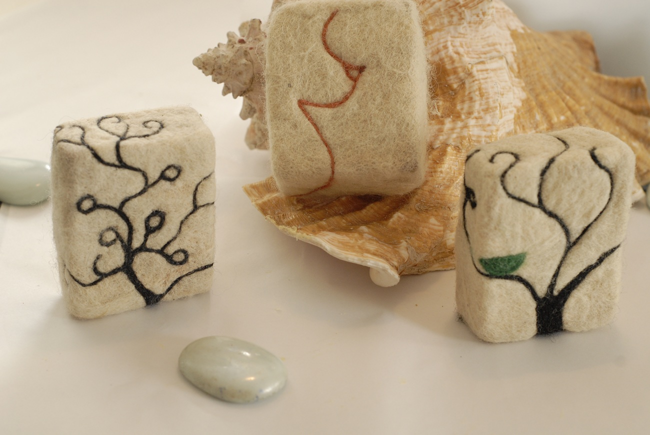 felted soap | LIVING FELT Blog!