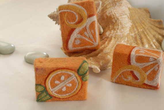 wait to share these amazing felted soaps with you! Designed and felted ...