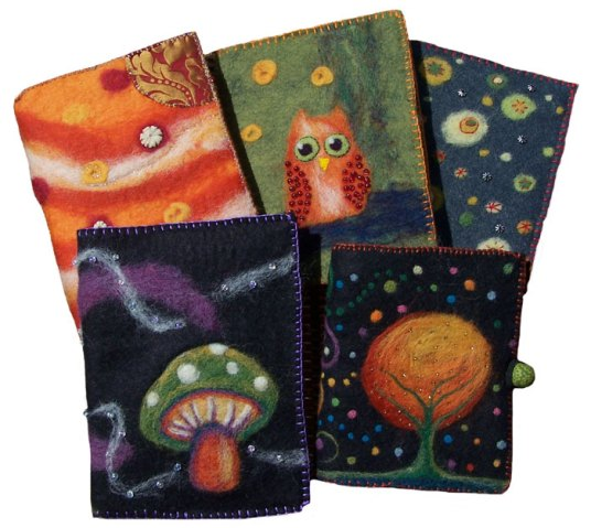 Felted Journals