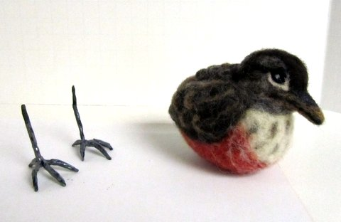 Bird Feet For Needle Felted Birds Free Tutorial Living