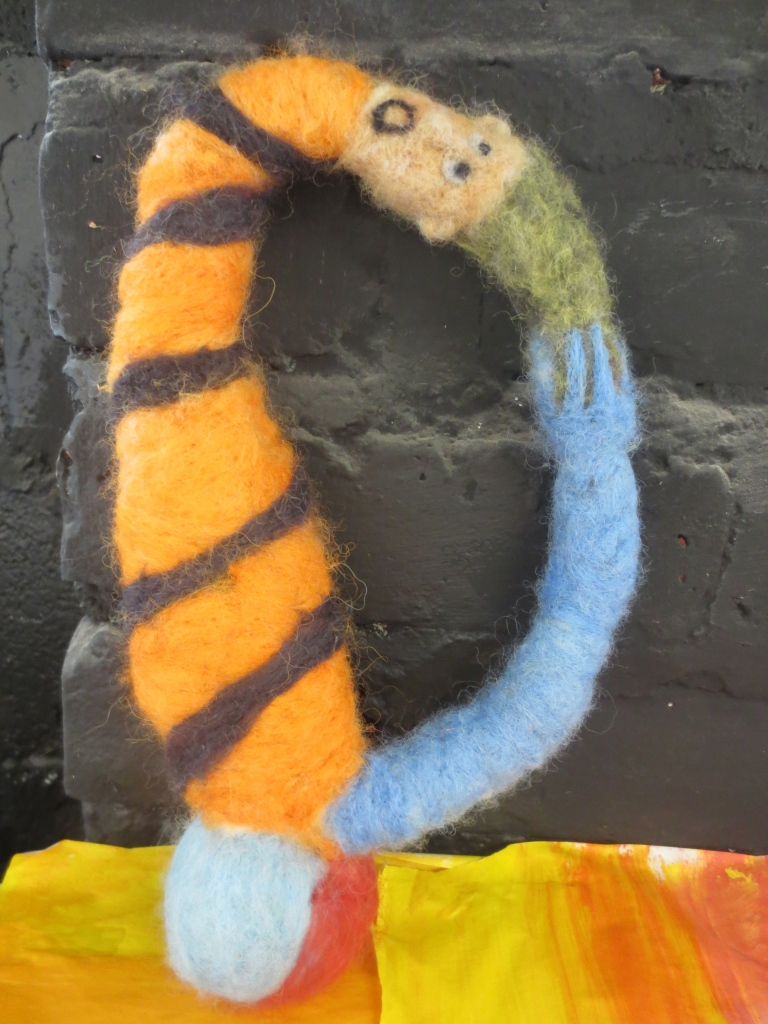 Felted Monsters