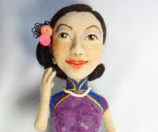 Needle Felted Doll Ying Sun