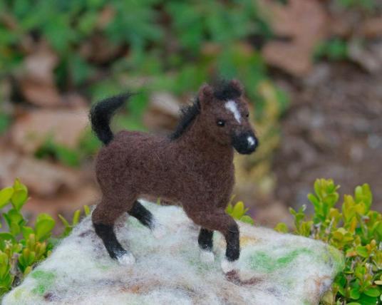 Needle-Felted-Horse