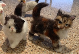 Needle Felted Cats kittens