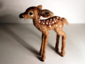 Needle Felted Fawn