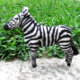 Needle Felted Zebra