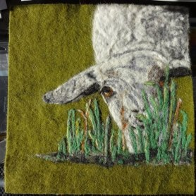 Felted Painting