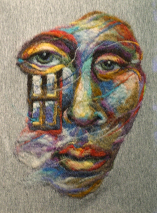 Stunning Wool Paintings By Kathryn Parenti Living Felt Blog