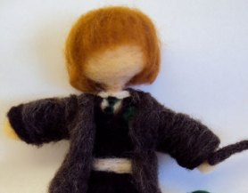 needle felted harry potter waldorf style