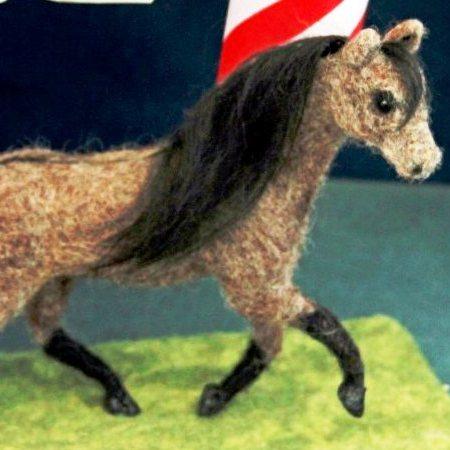 Needle Felting American Horse