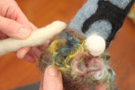 Needle Felting a Gnome Tutorial