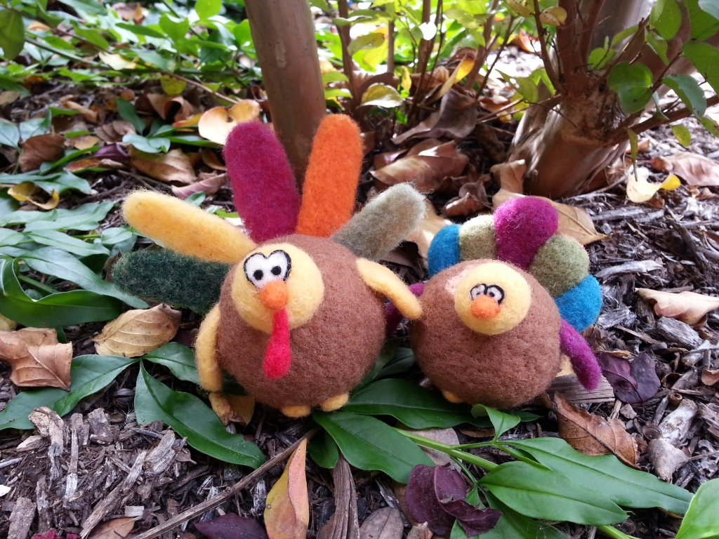Needle Felted Turkey Tutorial Free