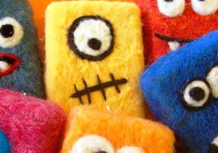 free felted soap tutorial – LIVING FELT Blog!
