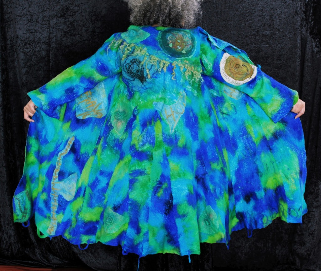 JONI CORNELL NUNO FELTED BATTLE COAT for Felt United 2010