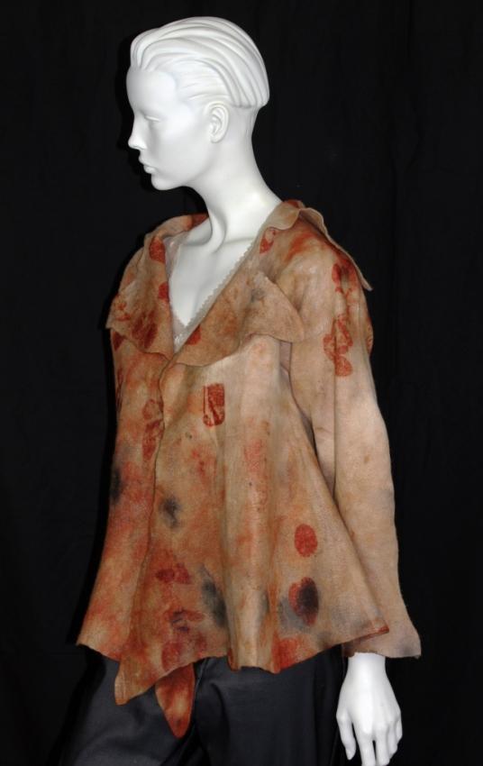 JONI-CORNELL-Ecodyed Nuno-felt-jacket