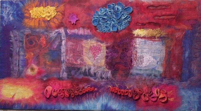 "Arlecchino Project - Cristina Pacciani of Cricri Felt - entitled ""Excess of Joy"""