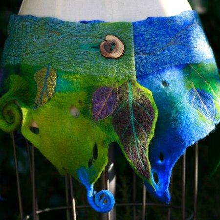 Katia-Mokeyeva_Felted Waist Wrap Girdle Skirt