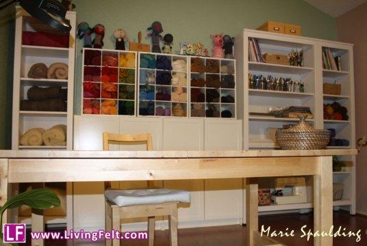 Craft Room Fiber Felting Studio picture