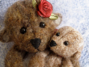 Needle Felting - Bear