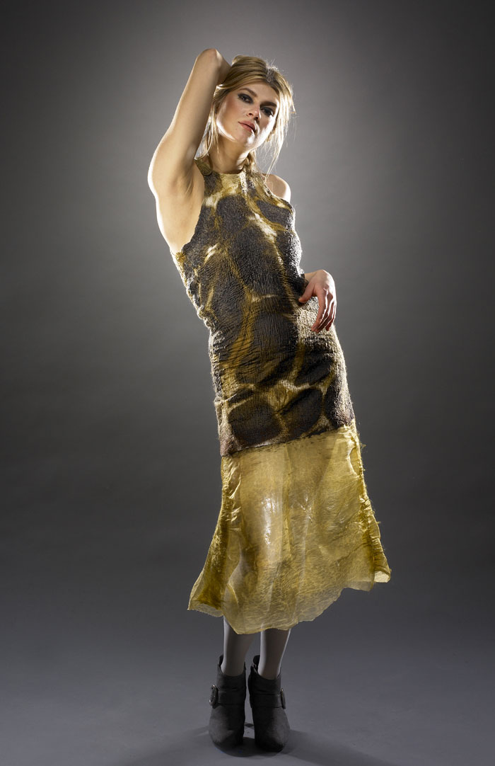 The Incredible Felted Fashion Of Barbara Poole