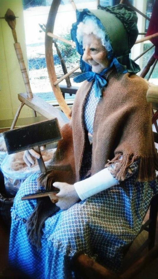 Needle Felted Life Size Doll Miss Ruby by the late Claudia Everett