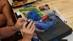 Felting Birds Workshop with Jennifer Field at Living Felt http://feltingsupplies.livingfelt.com