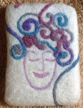Felted Soap by Michele White on www.livingfelt.com/blog