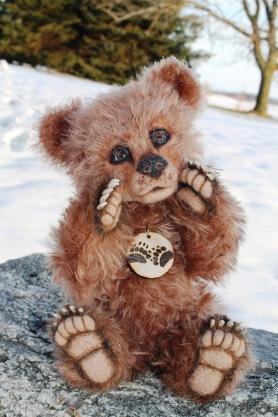 Needle Felted Brown Bear Luxembear