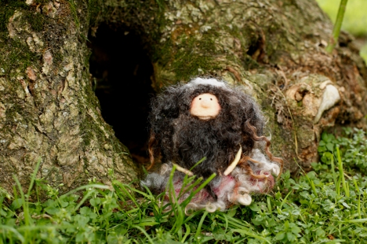 Needle Felted Gnomes by Erin Whalen on www.livingfelt.com/blog