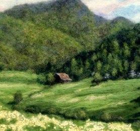 Tracey McCracken Palmer Landscape on www.livingfelt.com/blog