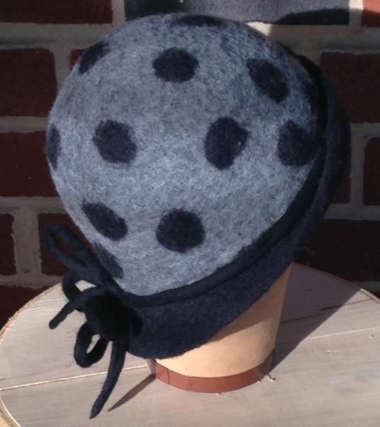 Judi-Francis-Hat-BlackPolka