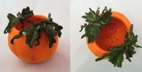 Felted Pumpkin Bowl by Carol Jensen in Washington
