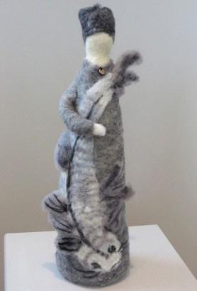 Felt Sculpture by Betsy Ratzsch featured on www.livingfelt.com/blog