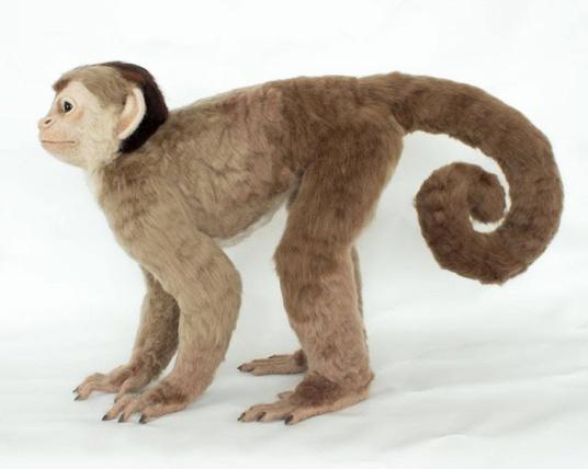 Felted Monkey Sculpture by Megan Nedds featured on www.livingfelt.com/blog