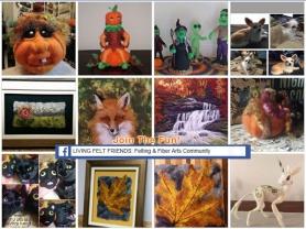 Living Felt Friends Facebook group projects featured on www.livingfelt.com/blog