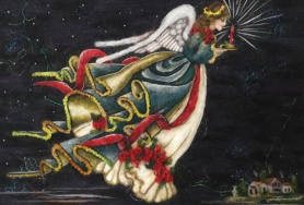 Angel of Light by Barb Sackel featured on www.livingfelt.com/blog